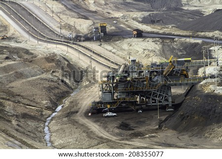 Machinery, mining - stock photo