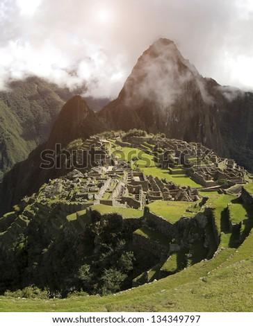 Machu Picchu - stock photo