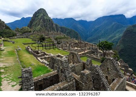 Machu picchu, Cuzco, Peru - stock photo