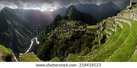 Machu Picchu, Peru - stock photo