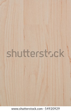 macro exposure of a bright wood grain pattern with grain and texture in evidence - stock photo