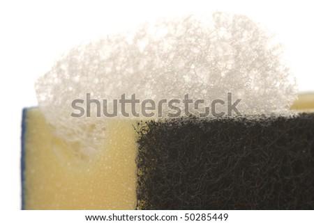 Macro foam - stock photo