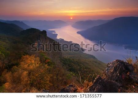 Mae Ping National Park at Lamphun province , Thailand - stock photo
