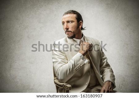 Mafia Boss - stock photo