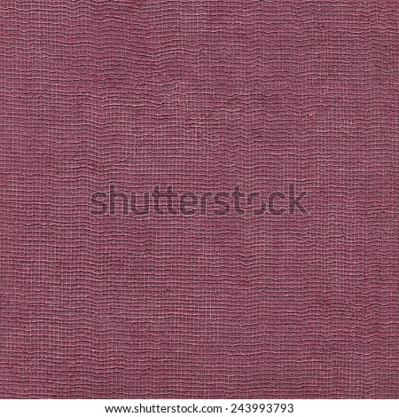 Magenta paper with textile pattern - stock photo