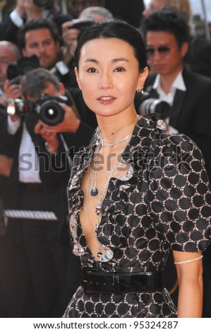 "Maggie Cheung at screening for ""No Country for Old Men"" at the 60th Annual International Film Festival de Cannes.  May 19, 2007  Cannes, France.  2007 Paul Smith / Featureflash - stock photo"