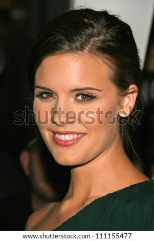 """Maggie Grace at the premiere of """"The Jane Austen Book Club"""". Arclight Hollywood, Hollywood, CA. 09-20-07 - stock photo"""