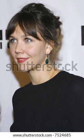 Maggie Gyllenhaal - stock photo