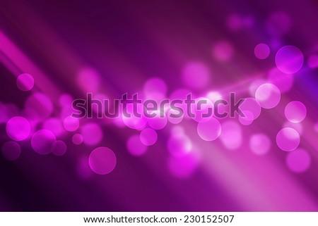magic bokeh on purple stripe line abstract background - stock photo