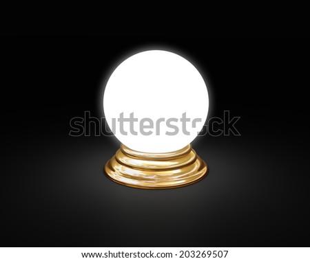 magic sphere - stock photo