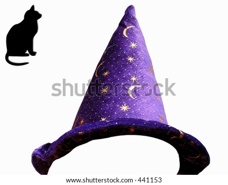 Magical Hat  Turn anyone into Harry Potter - stock photo