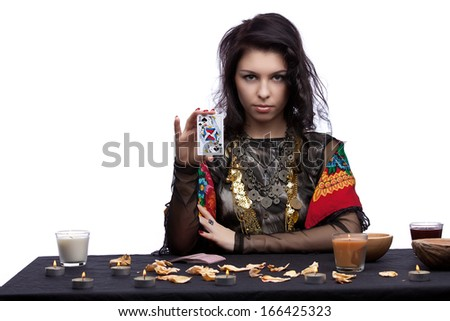 Magican concept - stock photo