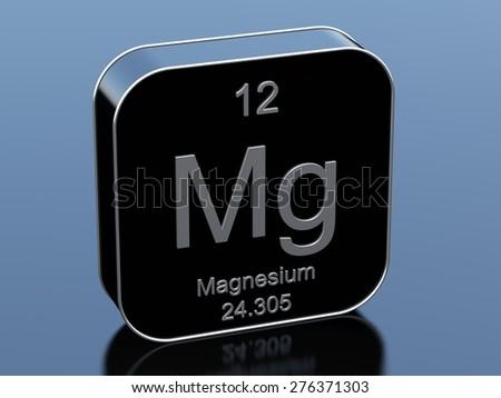 Magnesium - stock photo