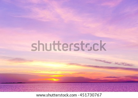 Magnificent View Bright Illumination  - stock photo