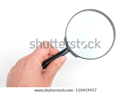 Magnifier - stock photo