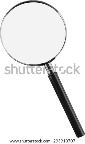 Magnifying Glass, Lens, Scrutiny. - stock photo
