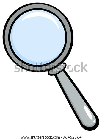 Magnifying Glass.Vector version also available in gallery - stock photo