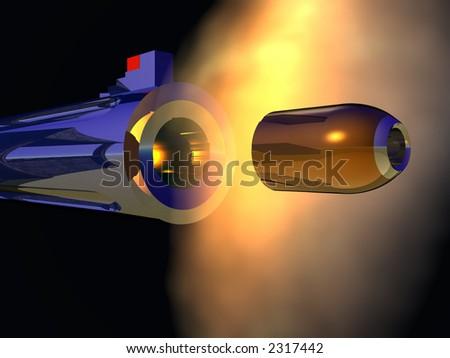 Magnum Pistol - stock photo