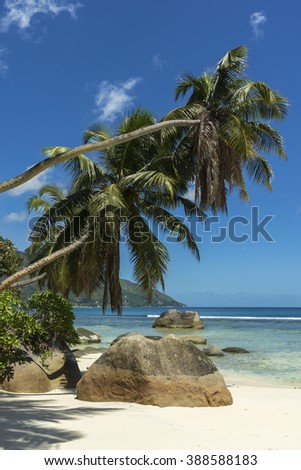 Mahe island, Seychelles - stock photo
