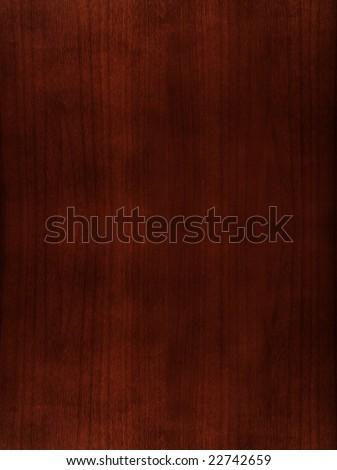Mahogany wood texture - stock photo