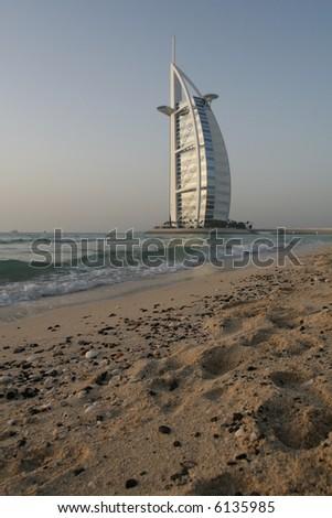 Majestic Burj Al Arab - stock photo