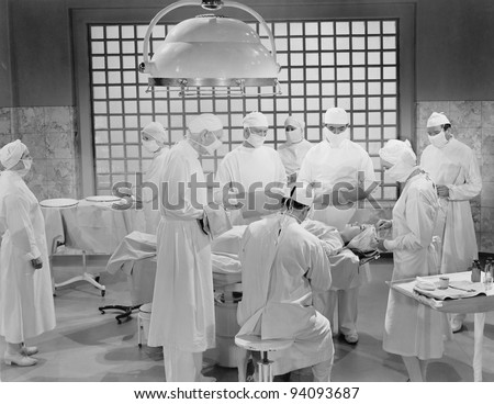 MAJOR SURGERY - stock photo