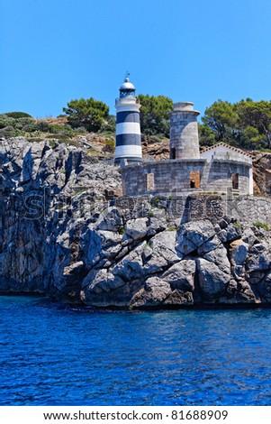 Majorca Island (Spain) : Port of Andratx - stock photo