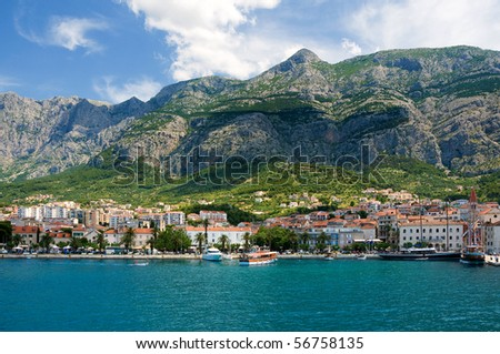 Makarska, Croatia - stock photo