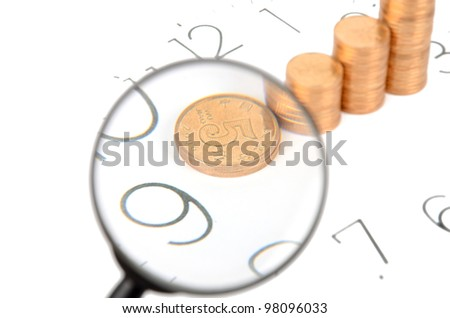 Make money - stock photo