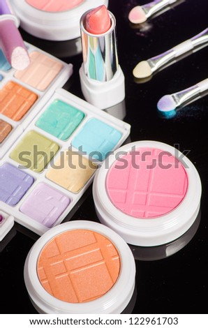 make up products - stock photo