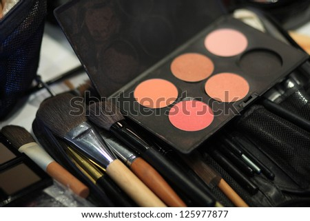 Make up set - stock photo