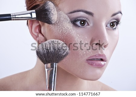 Makeover experience - stock photo