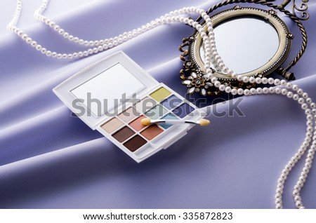 makeup - stock photo
