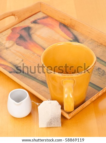 Making a Cup of Tea - stock photo