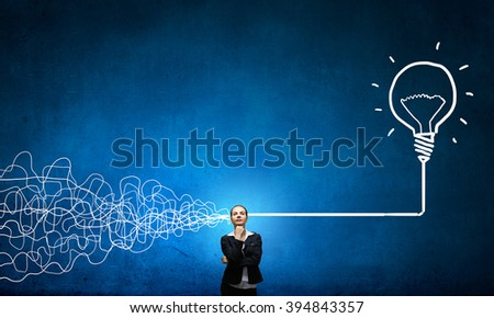 Making right desicion - stock photo
