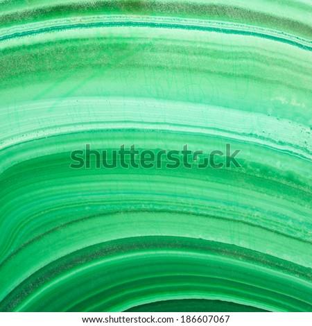 Malachite texture background. - stock photo