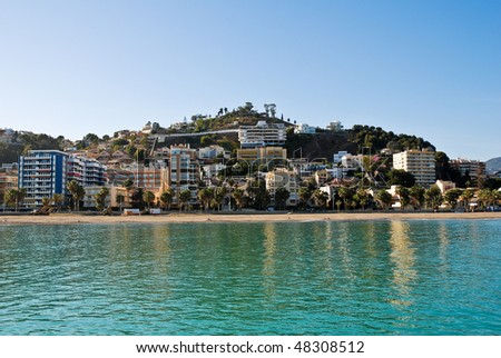Malaga Beach - stock photo