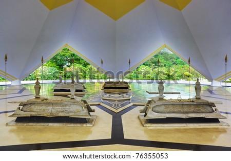 Malaysia national mosque - Kuala Lumpur - stock photo