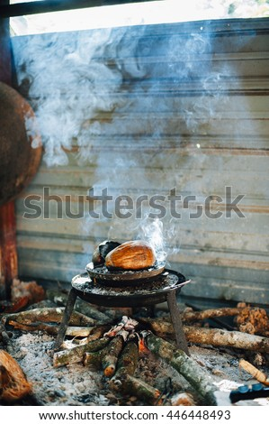malaysia traditional food - stock photo