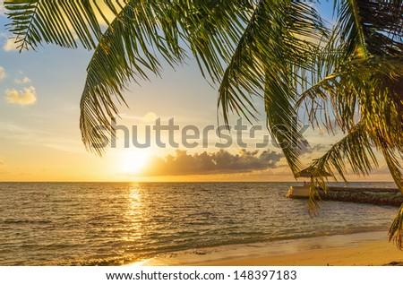 Maldives - stock photo