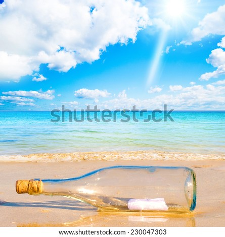 Maldives Background Beach  - stock photo
