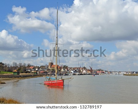 Maldon - stock photo