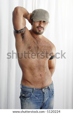 Male Body Shot - stock photo