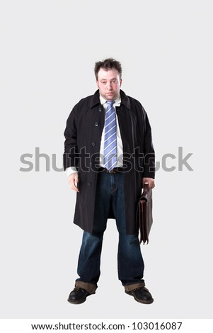 male manager loser - stock photo