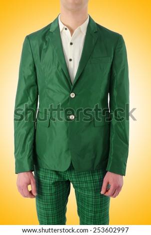 Male model in fashion concept - stock photo