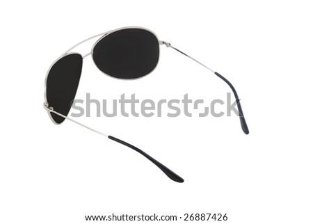 male sunglasses islolated on white 5 - stock photo