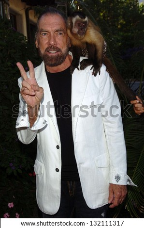"MALIBU, CA - AUGUST 05: John Paul DeJoria at ""Bow Wow Ciao"" to Benefit Much Love Animal Rescue on August 05, 2006 at John Paul and Eloise Dejoria Estate in Malibu, CA. - stock photo"