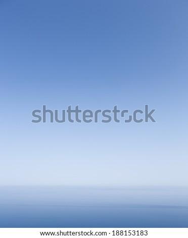 MALLORCA, SPAIN - JULY 17, 2013: Calm Mediterranean seen in Majorca, Spain. - stock photo