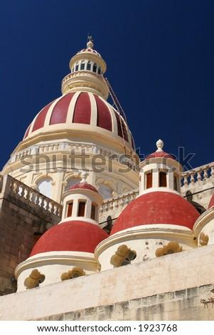 Maltese church - stock photo