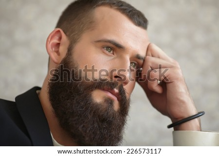 Bearded men in suits long sex pictures